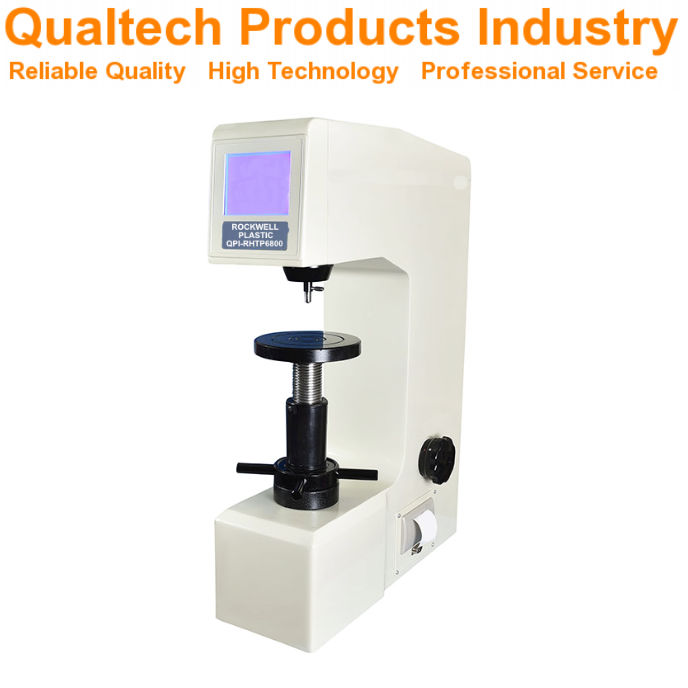 Rockwell Plastic Hardness Test Machine